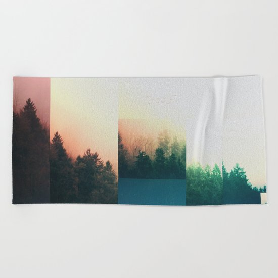 Fractions A70 Beach Towel