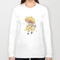 bee and puppycat Long Sleeve T-shirts featuring Bee and Puppycat by Kaciel