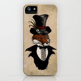 Dandy Fox iPhone Case