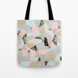 Geo Lights Tote Bag