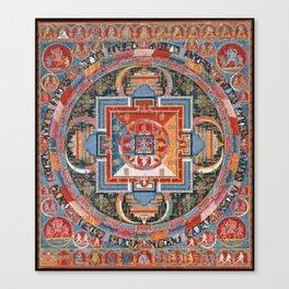 Mandala of Jnanadakini Canvas Print