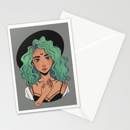 Witchy Lady Stationery Cards