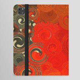 Swirls Galore iPad Folio Case