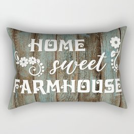 HOME SWEET FARMHOUSE Rectangular Pillow