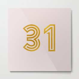 #31 (Pink) Metal Print