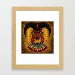 Queen Cobra Framed Art Print