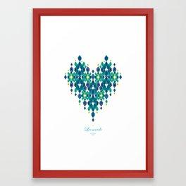 Leonardo Love Framed Art Print