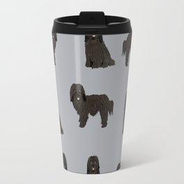 Havanese black coat dog breed gifts pure breed must haves Travel Mug