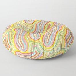 """glowworms"" Floor Pillow"
