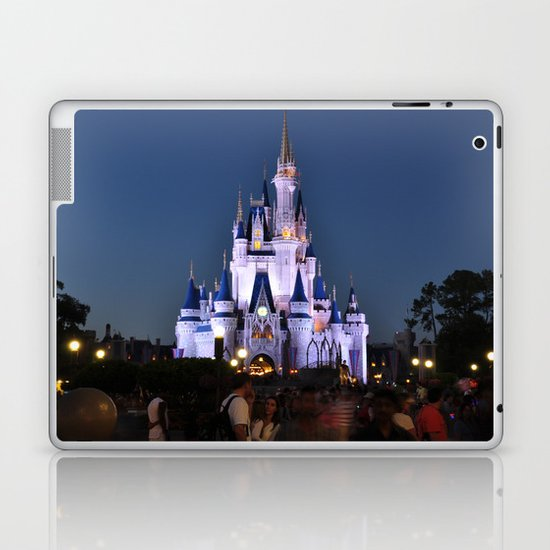 Cinderella's Castle II Laptop & iPad Skin