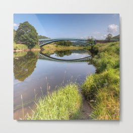 The River Wye at Bigsweir Metal Print