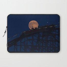 Night  on a roller coaster Laptop Sleeve