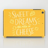 cheese iPad Cases featuring Cheese Dreams by Josh LaFayette