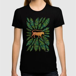 Jaguar – Green Leaves T-shirt