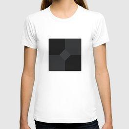 Simply Black on Black T-shirt