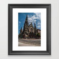 Mount Vernon Place United Methodist Church V.2 Framed Art Print