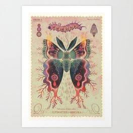 Saturnia divum orbis Art Print