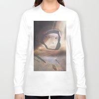 interstellar Long Sleeve T-shirts featuring Interstellar by Itxaso Beistegui Illustrations