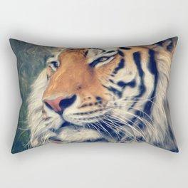 Tiger No 3 Rectangular Pillow