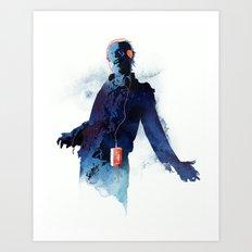 The Walkman Dead Art Print