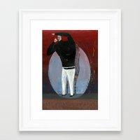 steve jobs Framed Art Prints featuring steve jobs by Robert Deutsch