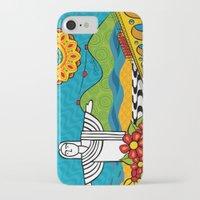rio de janeiro iPhone & iPod Cases featuring Rio de Janeiro 2015 by Monica Fuchshuber