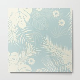 Tropical pattern 050 Metal Print