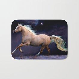 horse galloping Bath Mat