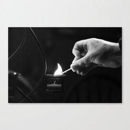 Catch Fire Canvas Print
