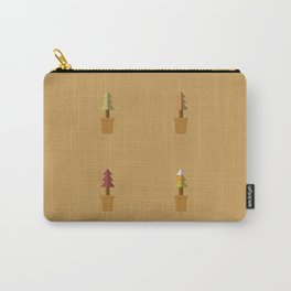 Potted Plants In Autumn Carry-All Pouch