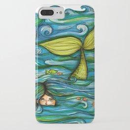 Camouflaged Mermaid  iPhone Case