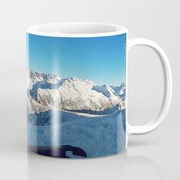 Ski on peak Coffee Mug