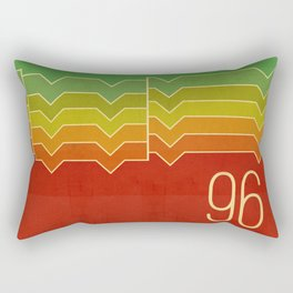 Nineteen ninety six Rectangular Pillow