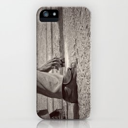 Clean Plate iPhone Case