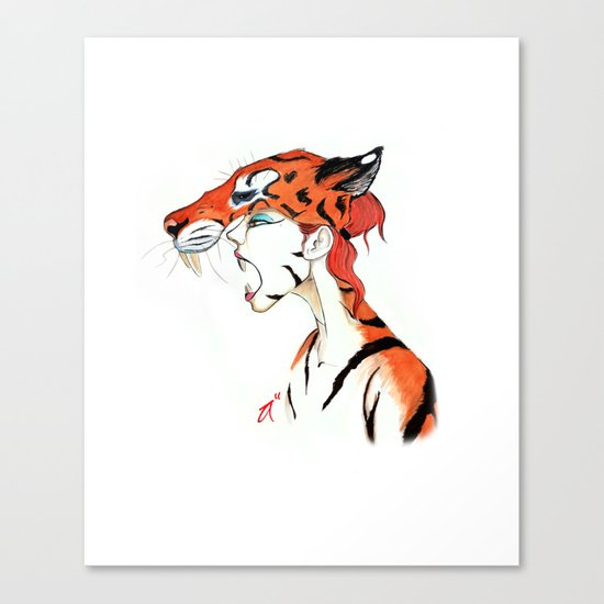 The Masquerade:  The Bengal Canvas Print