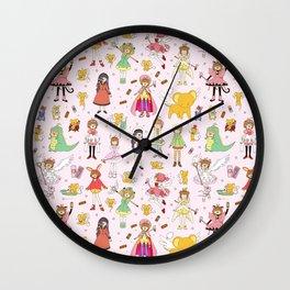 Cutest Cardcaptor! Cardcaptor Sakura Doodle Wall Clock