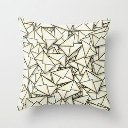 Email Throw Pillow