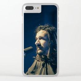 Timberwolf_01 Clear iPhone Case
