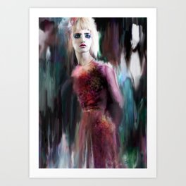 Caught in the Night Art Print