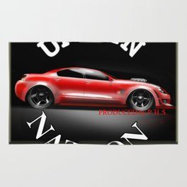 Car Hot Machine - Accessories & Lifestyle Rug