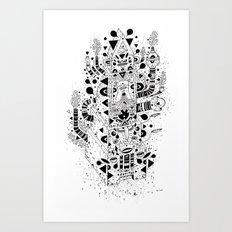 UNREAL 7 Art Print