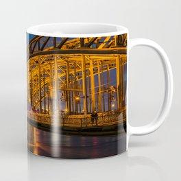 Hohenzollern Bridge in Cologne Germany Coffee Mug