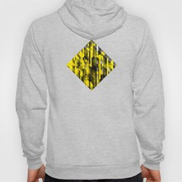 abstract composition in yellow and grays Hoody