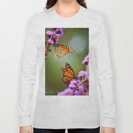 Butterfly Royalty Long Sleeve T-shirt