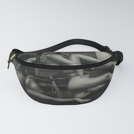 B&W Lesbian Foreplay Fanny Pack