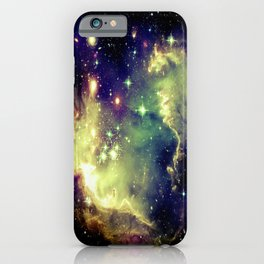 Nebula Galaxy (deep pastels) iPhone Case