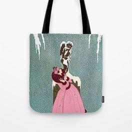 """The End of Romance"" Deco Design Tote Bag"