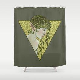Elven Garden Shower Curtain