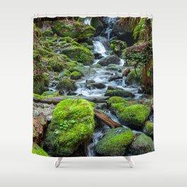 Downstream Shower Curtain