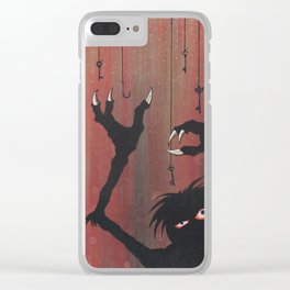 """""""Finding the Key to Your Heart"""" Clear iPhone Case"""